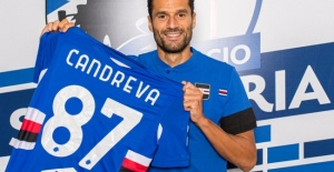 Candreva Sampdoria'da..!